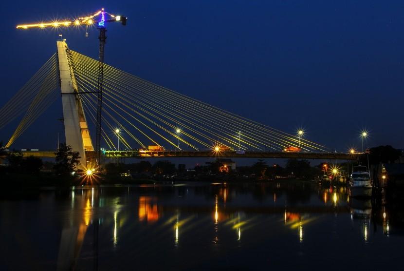 Siak IV Bridge of Pekanbaru.