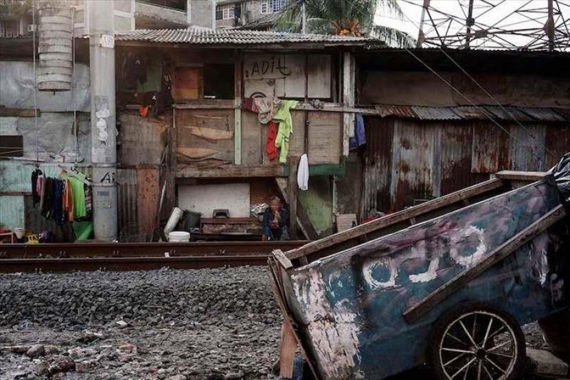 kemiskinan di kota besar (ilustrasi)