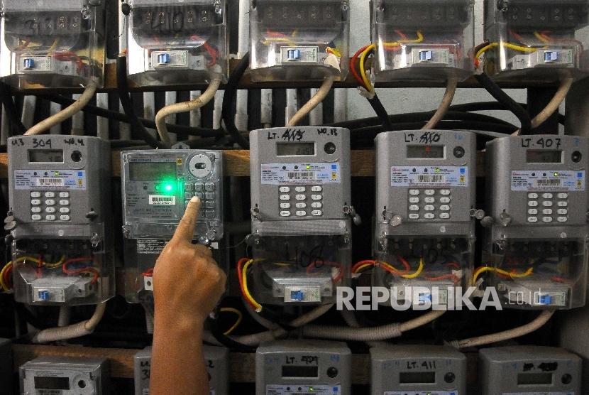 Kenaikan tarif listrik (ilustrasi)
