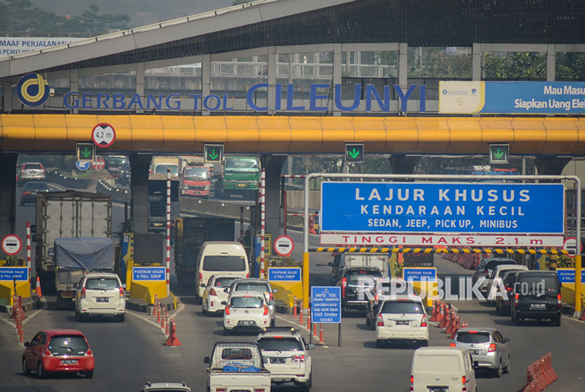 Gerbang tol Cileunyi di Kabupaten Bandung, Jawa Barat (ilustrasi)