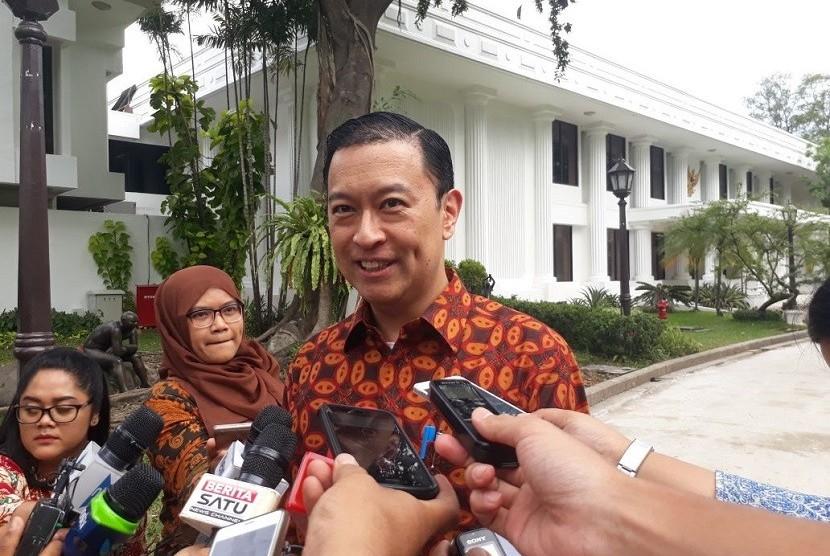 Kepala Badan Koordinasi Bidang Perekonomian (BKPM) Thomas Lembong.
