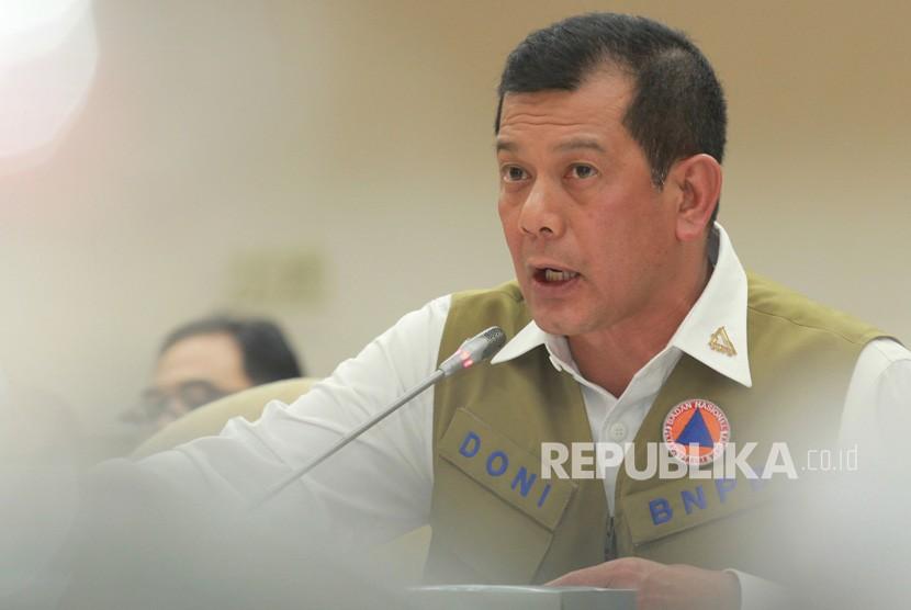 Kepala Badan Nasional Penanggulangan Bencana (BNPB) Letjen TNI Doni Monardo