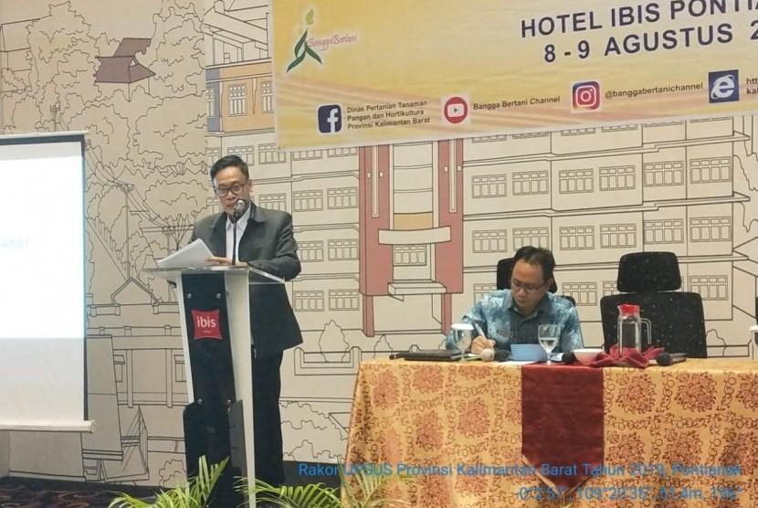 Kepala Badan Penyuluhan dan Pengembangan SDM Pertanian (BPPSDMP) Kementan Prof. Dr. Dedi Nursyamsi