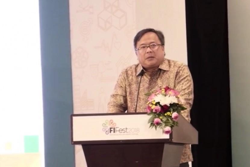 Kepala Badan Perencana Pembangunan Nasional (Bappenas), Bambang Brodjonegoro