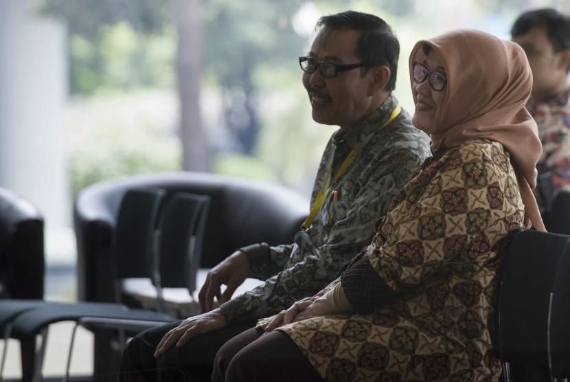 Kepala Badan Perencanaan Pembangunan Daerah (Bappeda) DKI Jakarta Tuty Kusumawati (kanan).