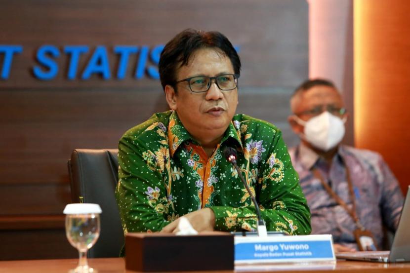 Kepala Badan Pusat Statistik (BPS), Margo Yuwono.