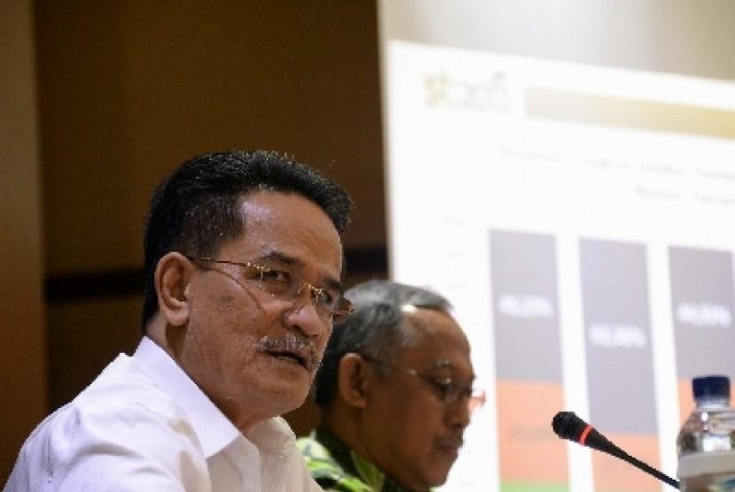 Kepala Badan Pusat Statistik (BPS) Suryamin.
