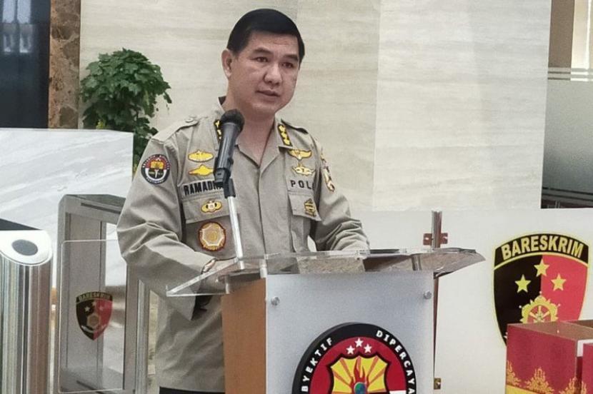 Kepala Bagian Penerangan Umum Divisi Humas Polri Kombes Ahmad Ramadhan.