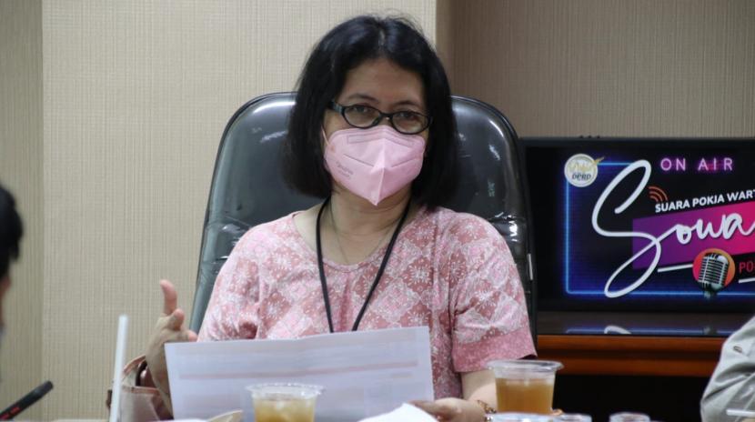 Kepala Bagian Pengadaan Barang dan Jasa Kota Bogor, Henny Nurliani.