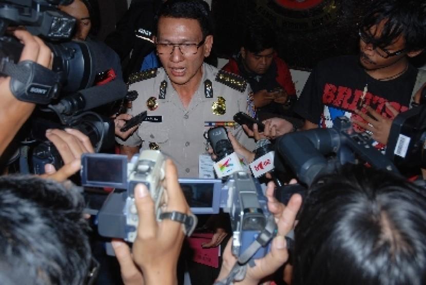 Kepala Bidang Humas Polda Metro Jaya, Kombes Martinus Sitompul.