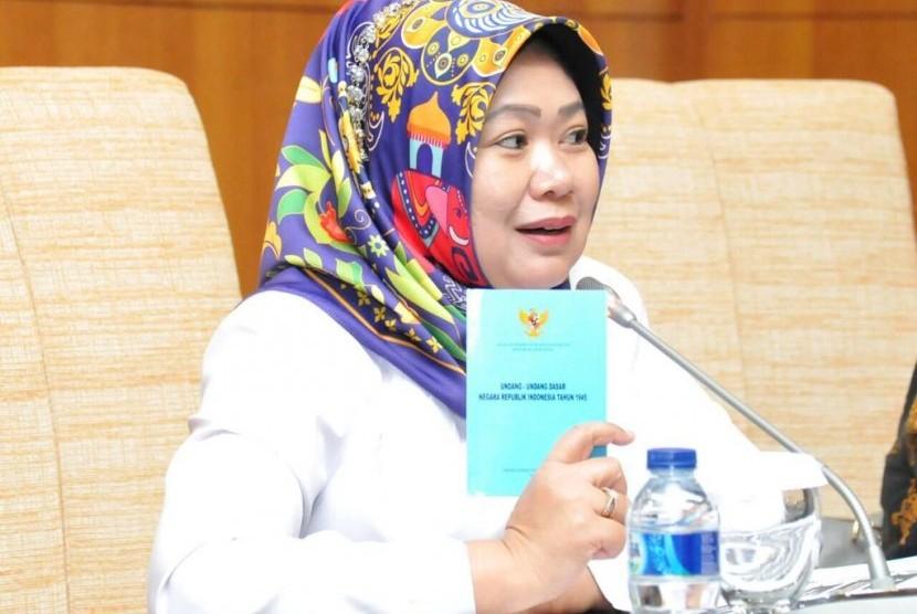 Kepala Biro Humas Sekretariat Jenderal MPR RI Siti Fauziah.