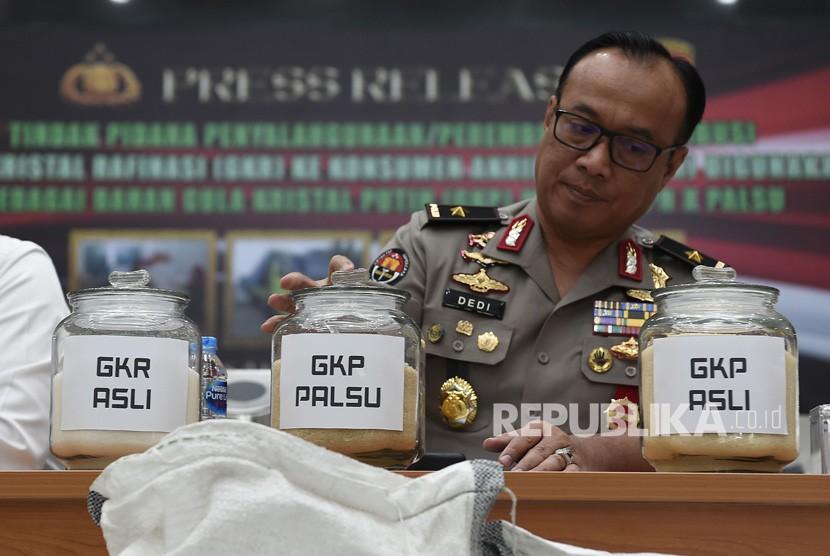 Chief of the Public Relations Bureau of the National Police Brigadier General Dedi Prasetyo.