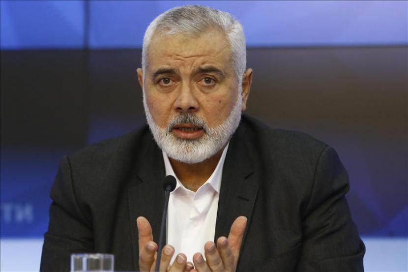 Kepala Biro Politik Hamas, Ismail Haniyeh