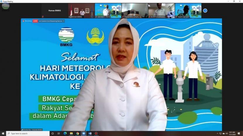 Kepala BMKG Dwikorita Karnawati.