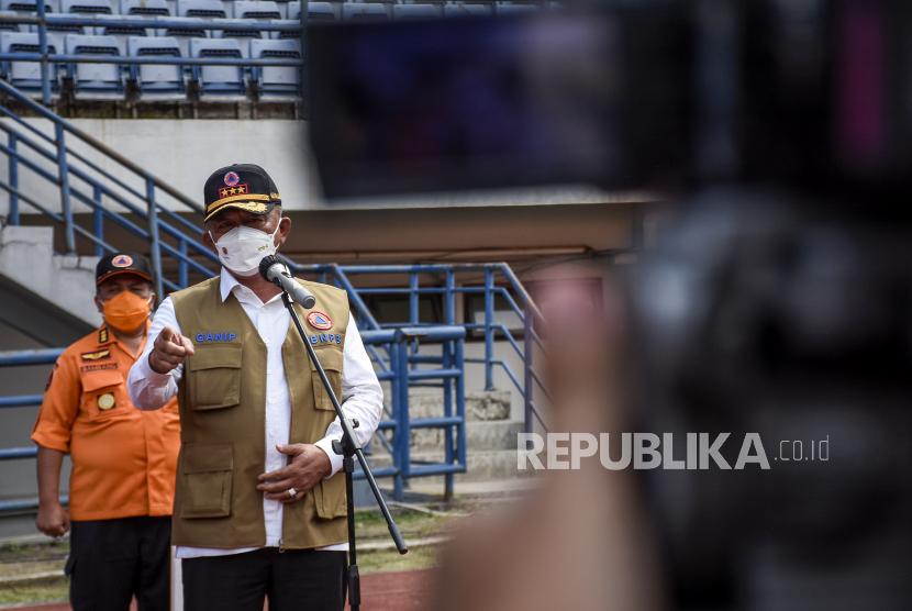 Kepala BNPB Tinjau Posko PPKM dan Selter Covid-19 di Sleman (ilustrasi).