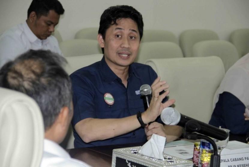Kepala BPJS Kesehatan cabang Palembang Andi Ashar