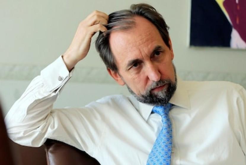Kepala Dewan Hak Asasi Manusia (HAM) PBB, Zeid Ra'ad al-Hussein