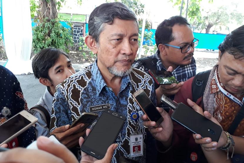 Kepala Dinas Kesehatan Provinsi Jawa Timur Kohar Hari Santoso