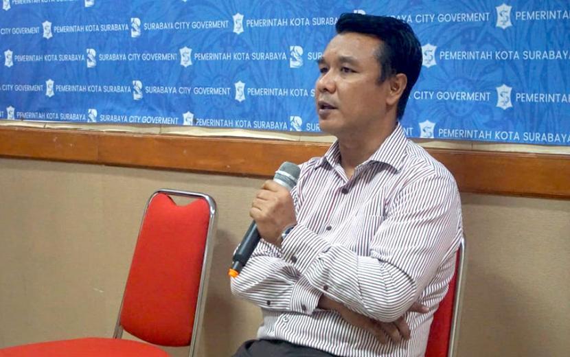 Kepala Dinas Komunikasi dan Informatika (Diskominfo) Kota Surabaya, M Fikser.