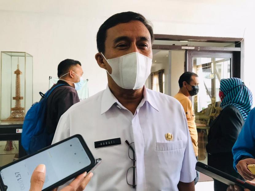 Kepala Dinas Pendidikan Kota Bogor, Hanafi di Balai Kota Bogor.