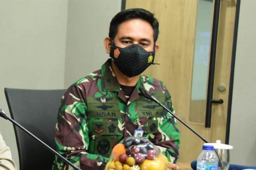 Kepala Dinas Penerangan TNI AU (Kadispenau) Marsekal Pertama (Marsma) Indan Gilang Buldansyah.