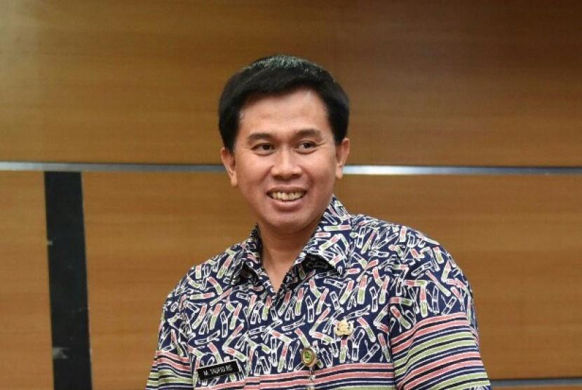 Kepala Dinas Perpustakaan dan Kearsipan Daerah (Dispusipda) Provinsi Jawa Barat Taufiq Budi Santoso.