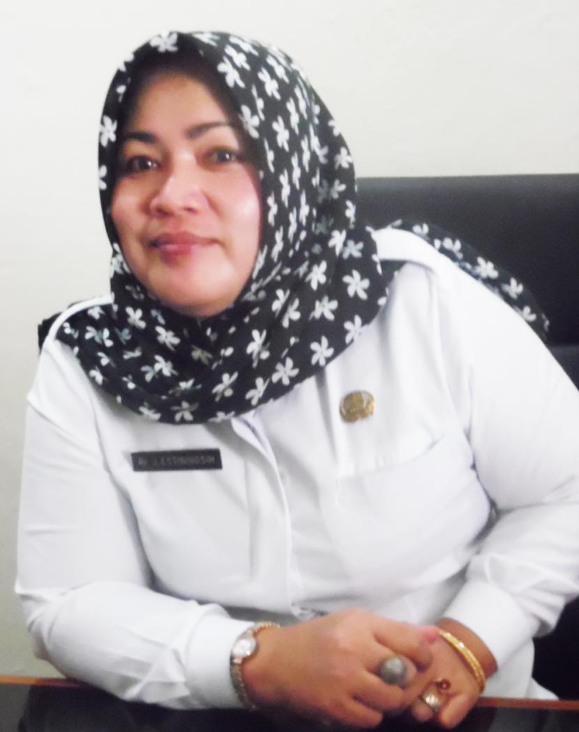 Kepala Dinas Perumahan dan Permukiman (Disperumkim) Kota Bogor, Juniarti Estiningsih.