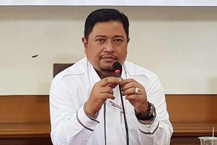 Kepala Kantor BPJS Ketenagakerjaan Bandung Soekarno Hatta Aang Supono.