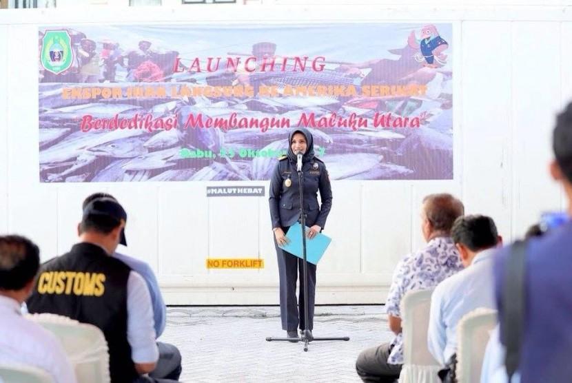 Kepala Kantor Wilayah (Kakanwil) Bea Cukai Maluku Finari Manan.