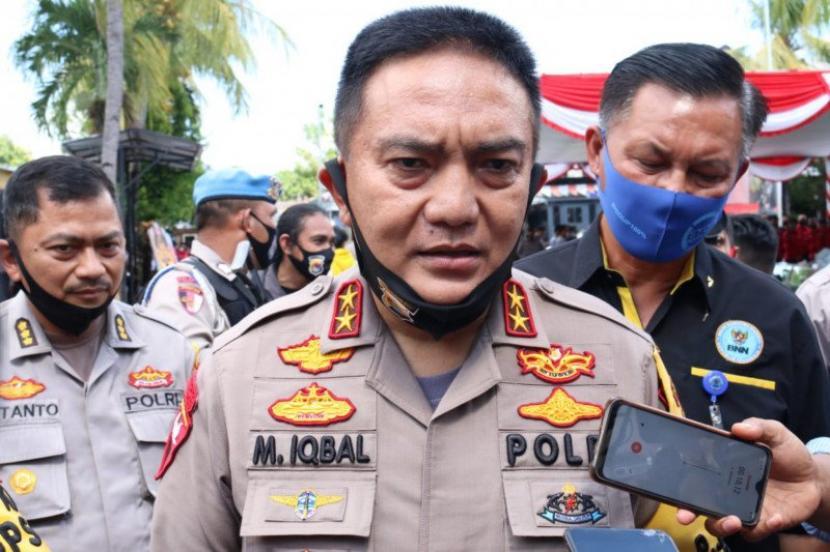 Kepala Kepolisian Daerah Nusa Tenggara Barat (Kapolda NTB), Irjen Mohammad Iqbal.