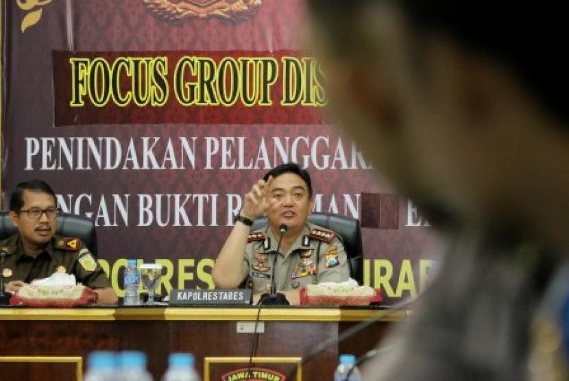 Kepala Biro Penerangan Masyarakat Polri Brigadir Jenderal Muhammad Iqbal
