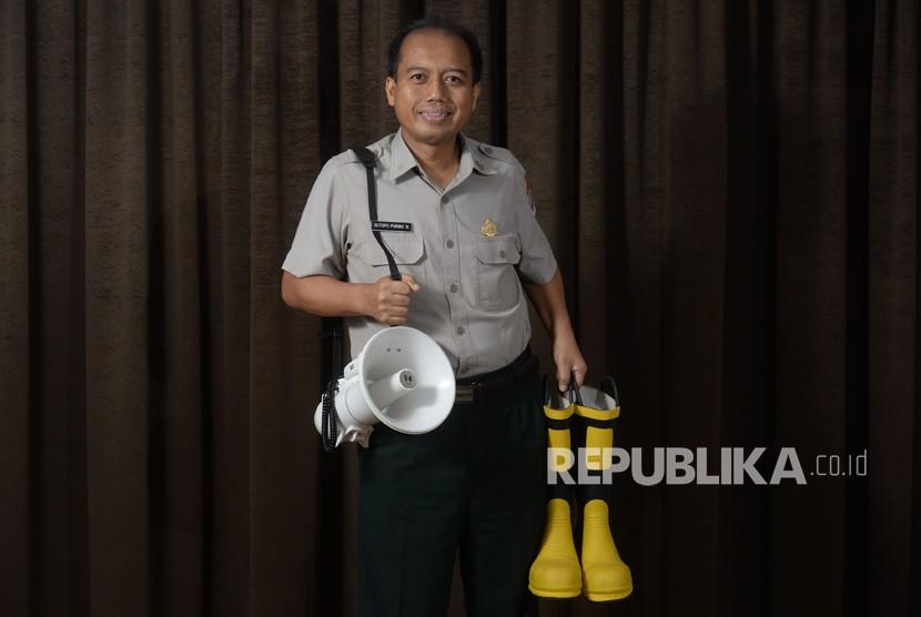 Kepala Pusat Data dan Humas Badan Nasional Penanggulangan Bencana (BNPB) - Sutopo Purwo Nugroho