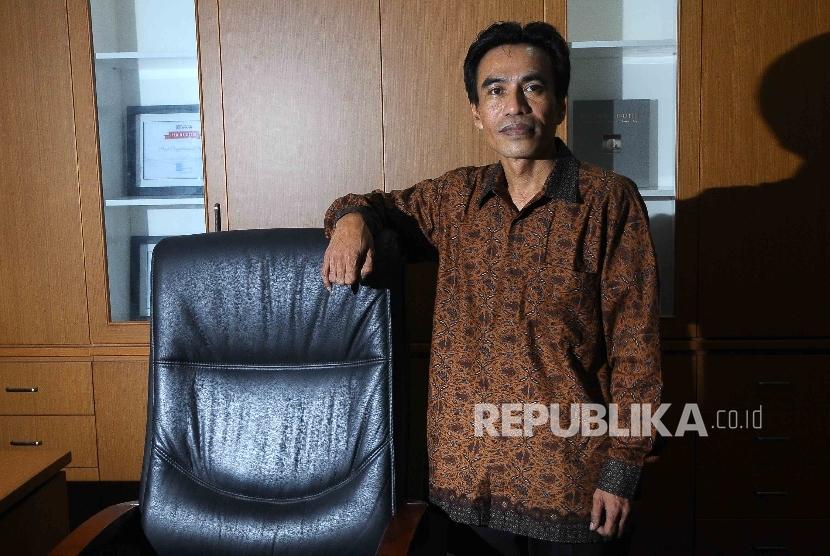 Kepala Pusat Pengembangan Perfilman Kementerian Pendidikan dan Kebudayaan, Maman Wijaya. (Republika/ Agung Supriyanto)
