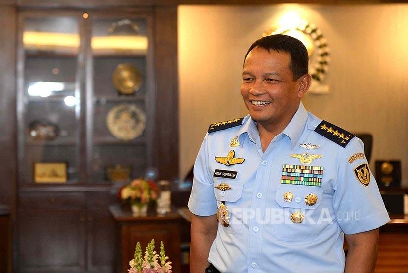 Kepala Staf Angkatan Udara (KSAU) Marsekal Agus Supriatna