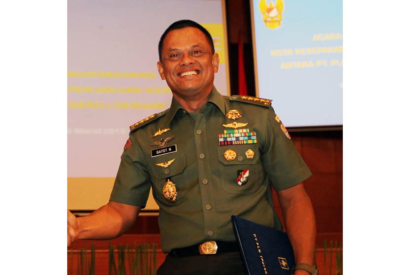 Kepala Staf TNI AD, Jenderal TNI Gatot Nurmantyo