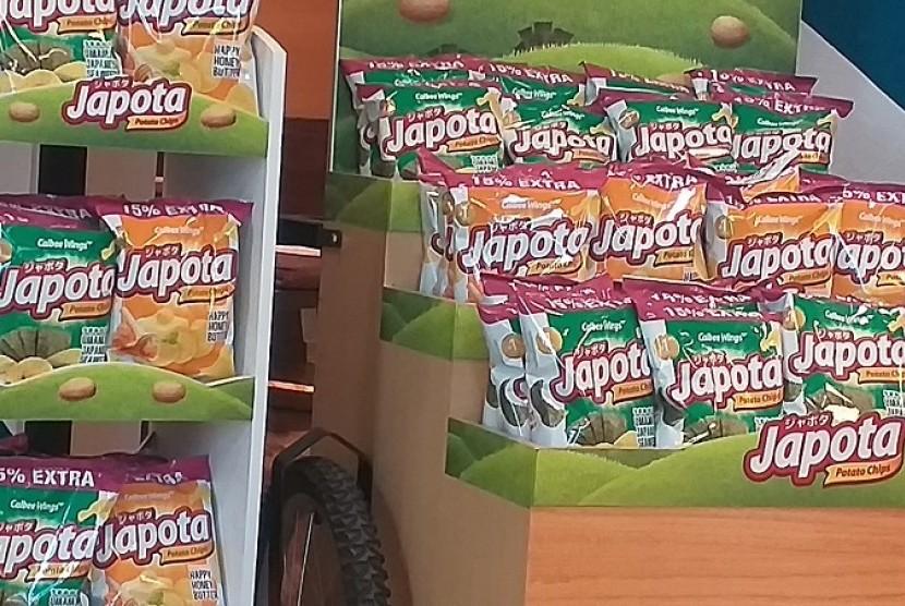 Keripik kentang Japota.