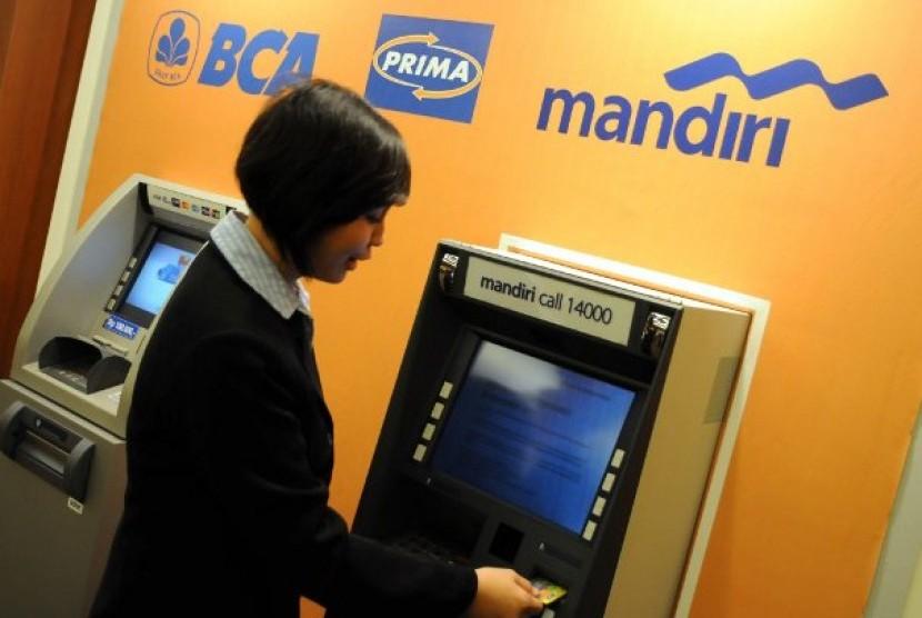 Kerjasama ATM BCA dan Mandiri
