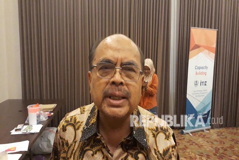 Ketua Badan Amil Zakat Nasional (Baznas), Bambang Sudibyo.