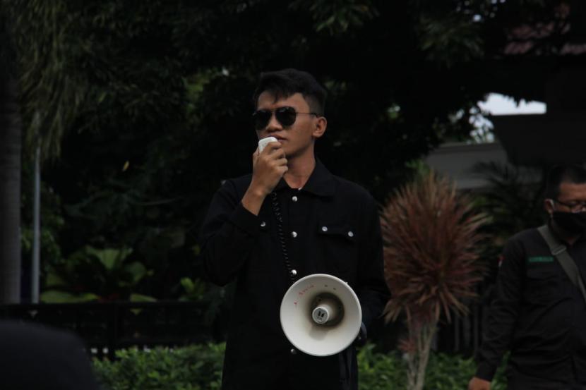 Ketua Badan Eksekutif Mahasiswa KM Universitas Negeri Yogyakarta (BEM KM UNY), Mutawakkil Hidayatullah.