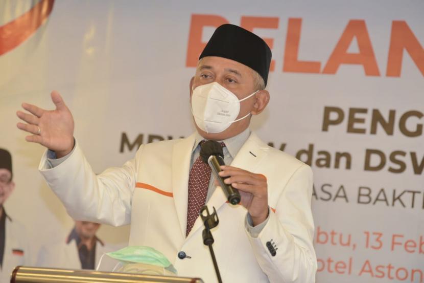 Ketua Bidang Pembinaan Wilayah (BPW) Banten, Jawa Barat dan DKI Jakarta (Banjabar) DPP PKS Achmad Ru