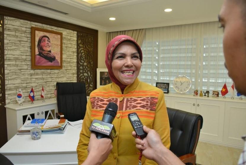 Ketua BKSAP Nurhayati Ali Assegaf .