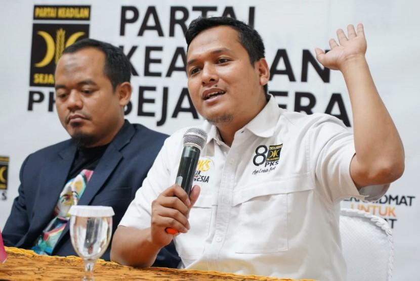 Ketua Departemen Politik DPP Partai Keadilan Sejahtera (PKS) Pipin Sopian.