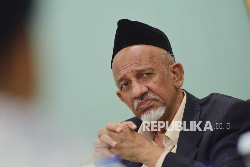 Ketua Dewan Dakwah Islamiyah Indonesia (DDII) Mohammad Siddik