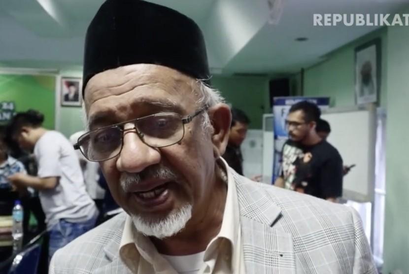 Ketua Dewan Dakwan Indonesia Mohammad Siddik