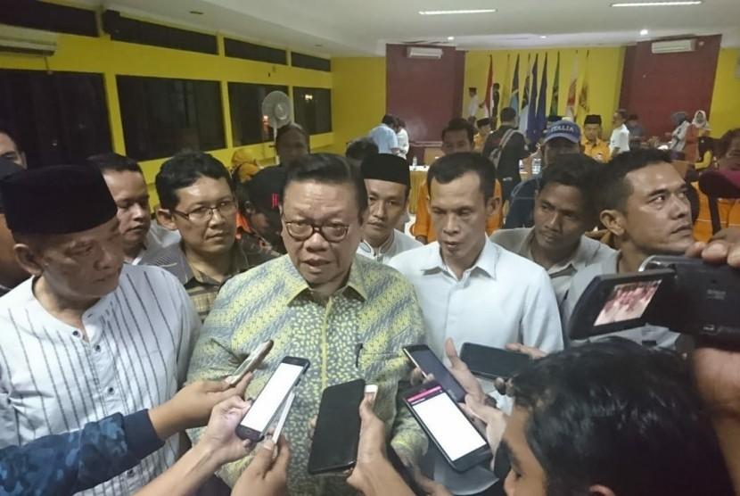 Ketua Dewan Pakar Partai Golongan Karya (Golkar) Agung Laksono