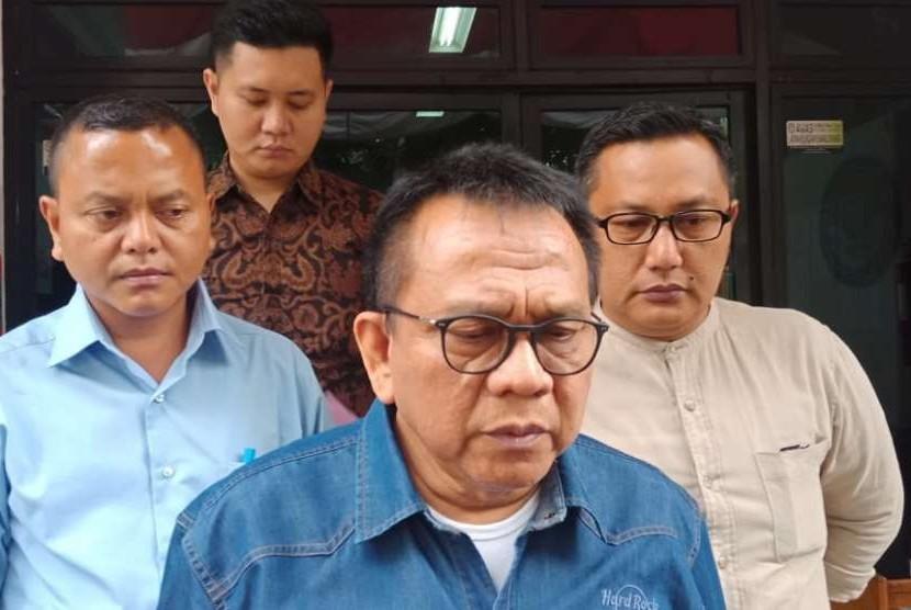 Ketua DPD Partai Gerindra, Mohammad Taufik di gedung Bawaslu DKI Jakarta, Kamis (20/9).