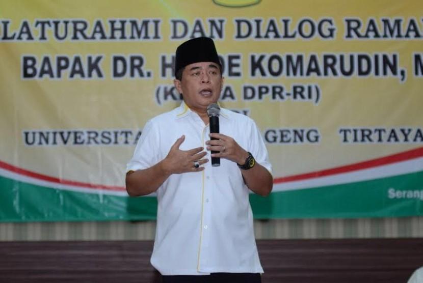 Ketua DPR Ade Komarudin.