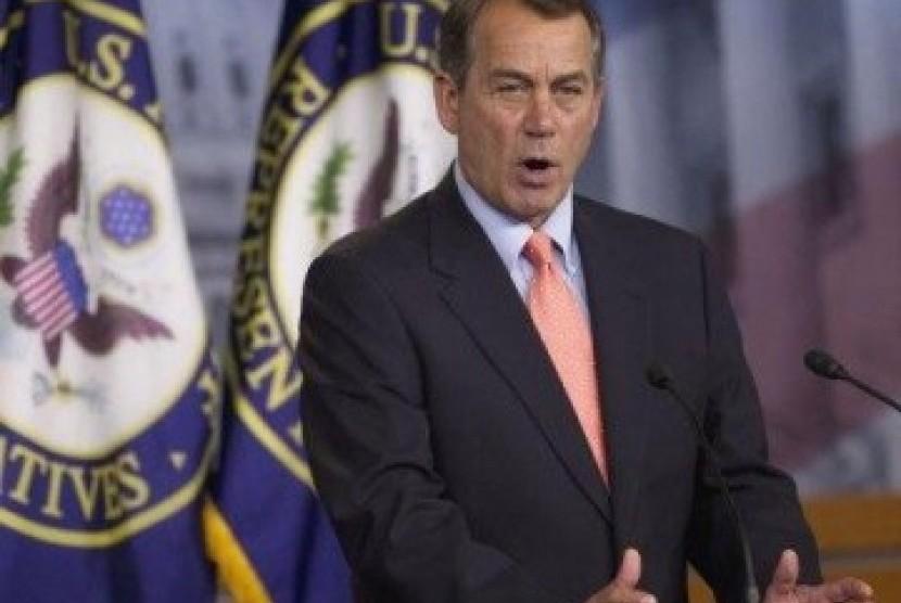 Ketua DPR AS John Boehner