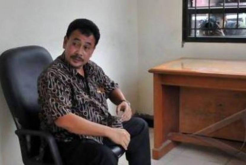 Ketua DPRD Kabupaten Grobogan non-aktif, M Yaeni.