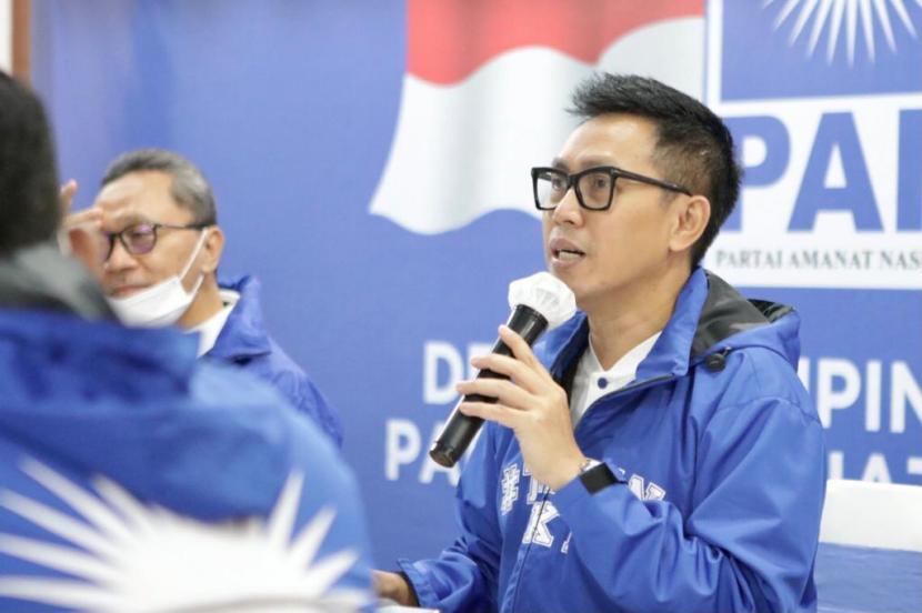 Sekretaris Fraksi Partai Amanat Nasional (PAN) Eko Hendro Purnomo alias Eko Patrio